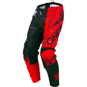 ONeal Element fietsbroek Shred rood/zwart